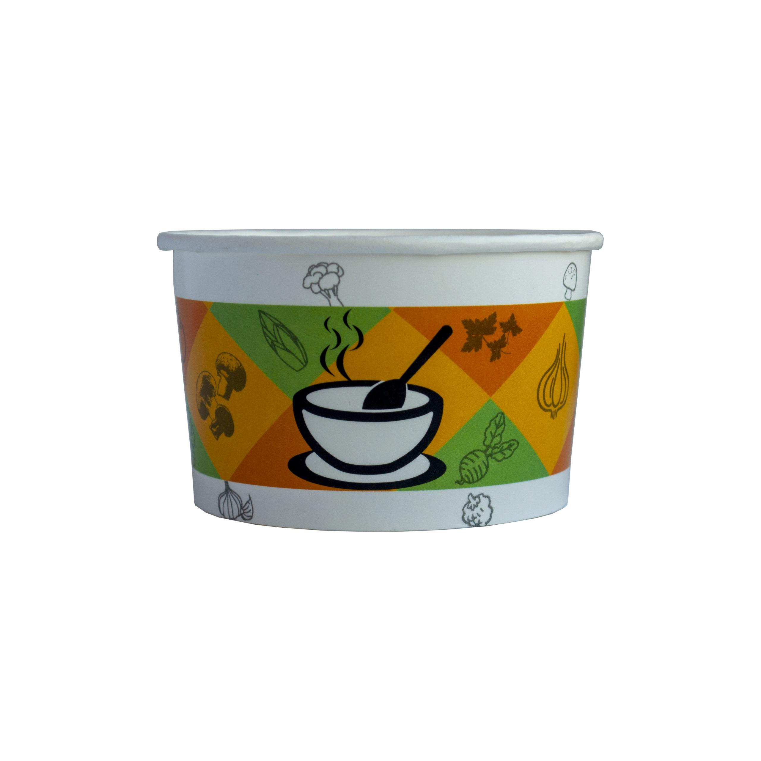 Контейнер суповий паперовий 470 мл(50 шт/уп)