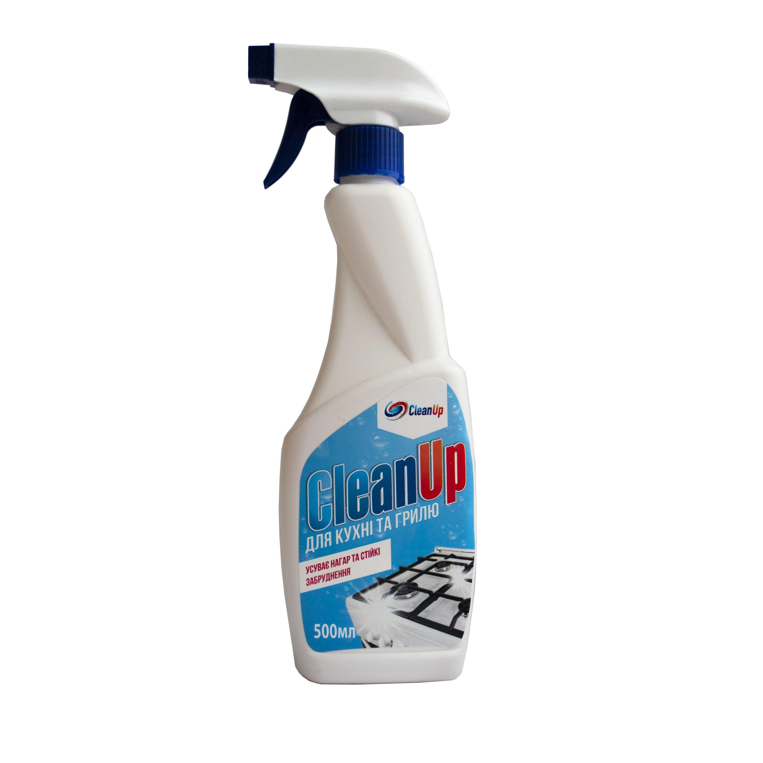 Clean Up Засіб д/ч кухні  500г з трігером