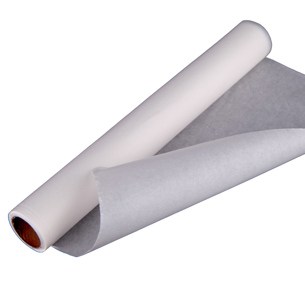 Папір пергам. білий 50м*38см в рулоні силіконовий