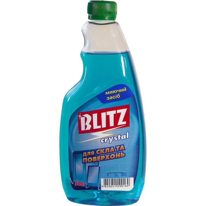 ВLITZ Crystal Засіб д/м скла та поверхонь пет пляшка 500 мл. без розп.