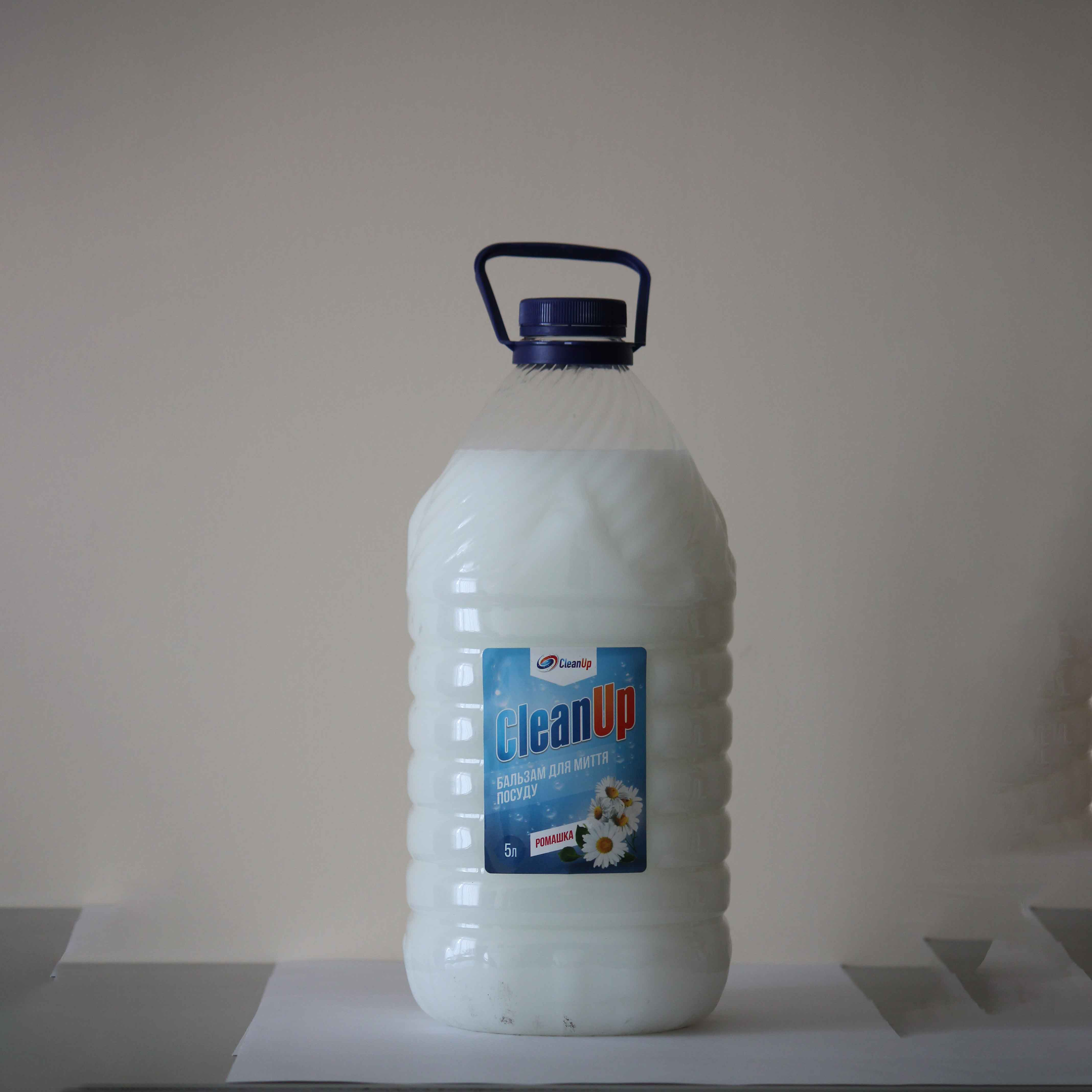 Clean Up Бальзам Ромашка пет пляшка д/м посуду 5л