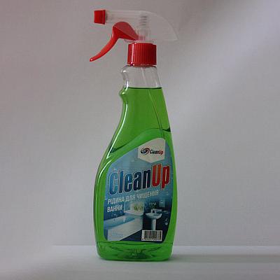 Clean Up Засіб д/ч ванної кімнати  500г з трігером