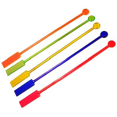 Мішалка Весло кольорова 100шт 20см