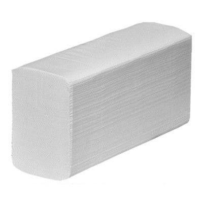 Рушники паперові білі 2-шар Z Luxe 200 шт/пач