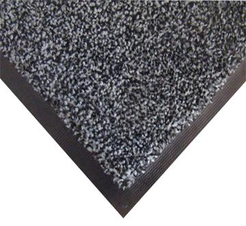 Нейлоновый грязезащитный коврик. 60-90 серый. 1022509